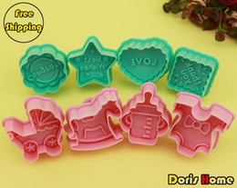 Wholesale New High Quality Best Wishes and HobbyHorse Design Cookies Mold Cutter