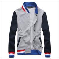 varsity jacket - Varsity Jacket Spring New College Jacket Baseball Stand Collar College Men Varsity Jacket Colors