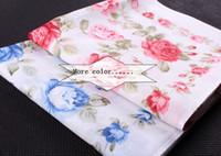 ladies handkerchiefs - cm Women s high grade cotton handkerchief printed handkerchiefs Hanjin female multi color