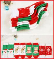 beer baby - New Baby Boys Girls Christmas Cotton Socks Designs Santa Claus Reindeer Snowflake Beer Sockings pc for T melee