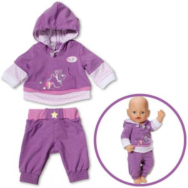 Wholesale New Doll Clothes Sport Wear Fit 43cm Baby Born Zapf ...