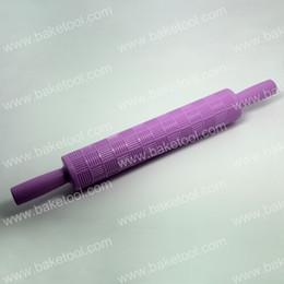 Wholesale 2015 New Basketweave Rolling Pin in purple fondant cake amp Retail