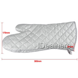 Wholesale New Long Heat Hot Resistant Kevlar Nomex Oven Mitt Glove Protect