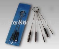 airbrush machine kit - Tattoo Body Art Tattoo Machine Tip Airbrush Wire Nylon KIT Cleaning Brush Tubes Nozzle Gun