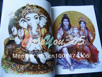 Wholesale Ganesha Vol The Art of Lord Tattoo Flash Reference Book INDIA Elephant God Tattoo Sketch quot New