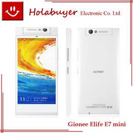 Wholesale Blue come Original GIONEE ELIFE E7 E7 mini FHD Screen Snapdragon GB GB GHz Quad Core Android NFC