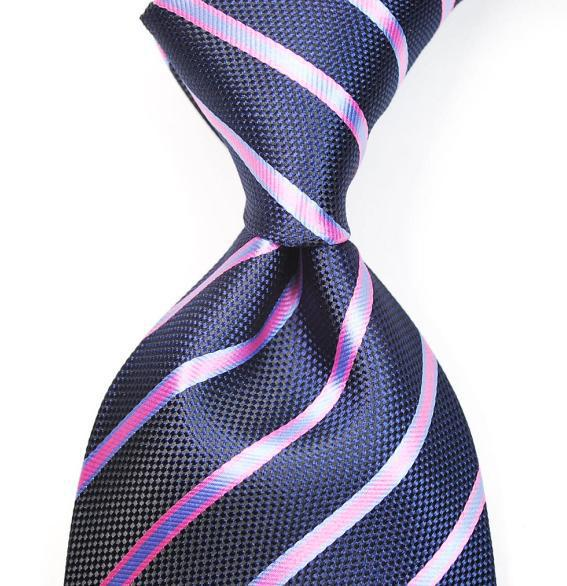 Wholesale mens ties necktie dress tie neck tie stripe silk factory s