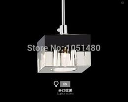 wholesale hot sales flush mount modern linear rectangular island dining room crystal chandelier led bar light cheap crystal island lighting cheap island lighting