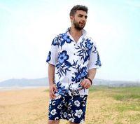 hawaiian shirts - New Arrival Man S Short Sleeve Printed Shirts Holiday Beach Shirts Plus Size Hawaiian Summer Casual Shirts A1518