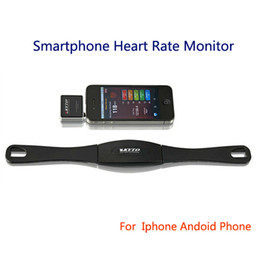 Wholesale-Smartphone Mobile Heart Rate Monitor Chest Strap Band For Iphone