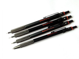 Wholesale mm mm mm mm redcircle Metal Lead Holder Mechanical Pencil For Drawing sketch black colour