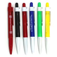 ball pen manufacturer - Manufacturers plastic advertisement pen ball point pen Office stationery pen quality assurance