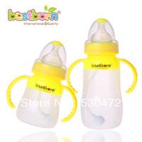 antibiotics types - Baby straw belt caliber handle antibiotic baby silica gel bottle full newborn products ml ml