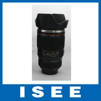 abs camera color - Christmas Black Color Camera Lens Mug ABS Stainless Steel Coffee Tea Mug Creative Cup