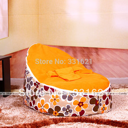 Wholesale Sandy s Store With Filler Baby Seat Bed Beanbag Sofa Baby Bean Bag Bed Hot Selling