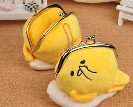 Wholesale-gudetama Pulsh Zero Purse Key Bag for Girl Child small size 9cm
