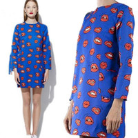 Cheap print screen full page Best printed empire line dress