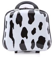 animal print luggage - New arrival cosmetic case large capacity jewelry box small fresh storage travel luggage bag make up bag