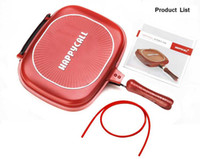 big frying pans - Happycall Happy Call Big Size cm Fry Pan Non stick Fryer Pan Double Side Grill Fry Pan