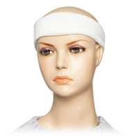 best athletes - Best Selling Sports Protective Sweatband Tennis Athlete Elastic Head Band White