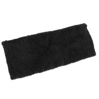 Wholesale Protective Sports Support Soft Head Band Elastic Sweatband Black IN STOCK