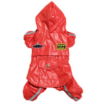 air force accessories - New USA AIR FORCE Pet Dog Waterproof Hoodie Raincoat Poncho Rain Jumpsuit Clothes XS S M L XL