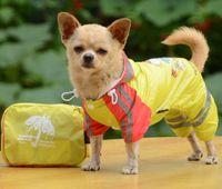 animal print raincoat - Two legs printing pet dog raincoat children raincoat network Bristol spot sales Casual fashion pet raincoat