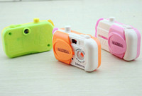 animation camera - Hot sales color simulation animation cartoon toy camera play house Picture Play Toys