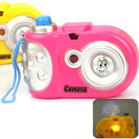 Wholesale Cute Baby Study Toy for Kids Projection Camera juguetes Educational Toys for Children brinquedos P4PM