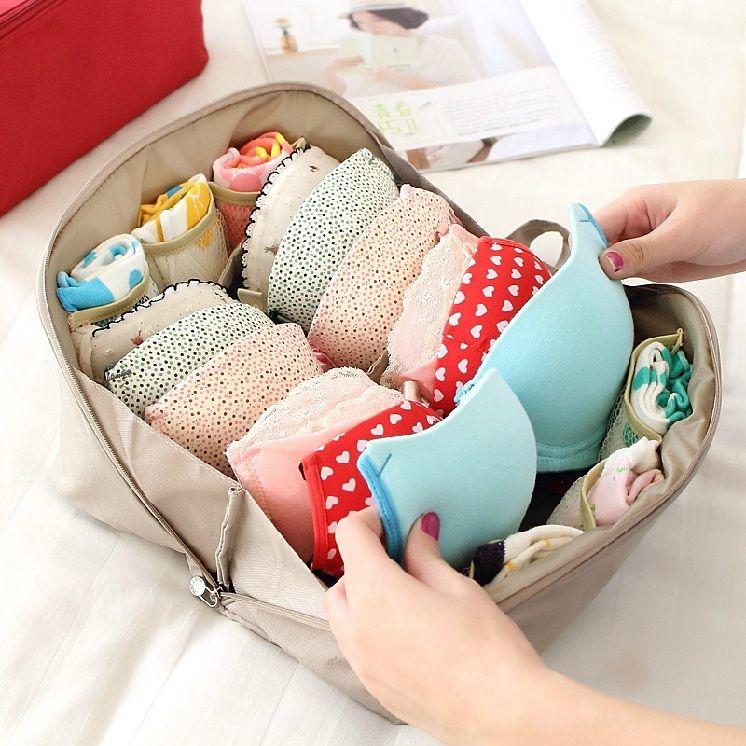 Wholesale 2015 New!travel Accessories Women Bra Holder Underwear ...