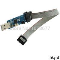avr usb programmer - A11 Line V V AVR Programmer USB ATmega16 WIN7 OT8G USBasp USBISP Download Line T1399 P