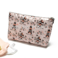 accessories cosmetic purses - Fashion Cartoon Mice Print Clutch Purse American Elegant Women s Cosmetic Case Waterproof Makeup Bag accessory