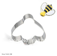 bee cookie cutter - Stainless steel cookie cutter Bee shape cookie cutters Fruit cutter Cake tools Big boss