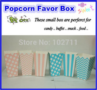 christmas box - Set of pc Baby Shower Decoration pink girl blue boy Favors Popcorn boxes birthday party Boy and Girl mix style or u pick