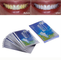 Wholesale Pairs New Teeth Whitening Strips Gel Care Oral Hygiene Clareador Dental Bleaching Tooth Whitening Bleach Teeth Whiten Tools