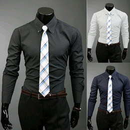 Navy Blue Dress Shirt Tie Online  Navy Blue Dress Shirt Tie for Sale