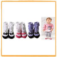 ballet outdoors - colors Baby ballet Socks Baby Outdoor Shoes sock Baby Anti slip Walking Socks