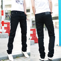 Wholesale new male trousers slim pencil pants boys jeans skinny pants casual trousers men jeans