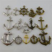 antique boat anchor - pieces Alloy Antique Vintage Tone Boat Beach amp Nautical Dangle Anchor Pendant