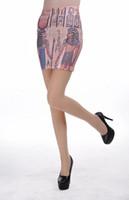 ancient egyptian animals - Ancient Egyptian Life Printing Stretch OL Classic Skirts Womens Sexy Seamless Package Hip Mini Pencil Skirt saias feminina