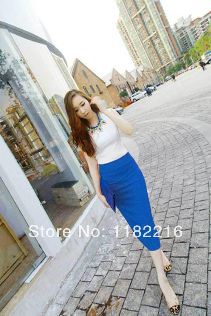 2015 New Womens OL Porter Expédition Travail Business Casual Sexy Slim crayon Ju
