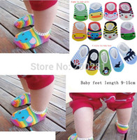 ankle socks for toddlers - Cotton Cartoon Baby Anti slip Socks For Baby Month Baby Toddler First Walkers Socks Anti Slip Winter Warm Ankle Sock