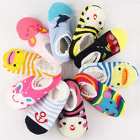Wholesale Non slip Baby Toddler Low cut Socks Shoes Slippers Boys Girls children s Low Cut Socks booties kids Socks