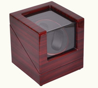 Wholesale High Quality red pattern Luxury watch winder machine