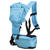 Wholesale baby removable multi use shoulders front chair carriers belt safe soft infant single shoulder hug infant chair belt month