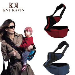 Wholesale pc Adjustable Infant Baby Carriers Sling Newborn Kid Wrap Rider Comfort Backpack Hipseat Baby Wrap Products With Chair HK373