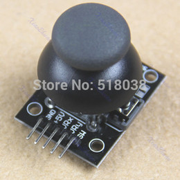 Wholesale-A25 New Hot Sales Joystick Game Controller JoyStick Breakout Module For Arduino Free Shipping