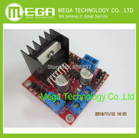 Wholesale New Dual H Bridge DC Stepper Motor Drive Controller Board Module L298N for Ar duino TK0450