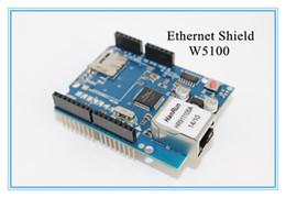 Wholesale UNO Shield Ethernet Shield W5100 R3 UNO Mega UNR R3 lt only W5100 Development board for arduino