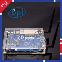 acrylic computer cases - Hot Banana Pi R1 Wireless smart Router BPI R1 case Acrylic Enclosure BPI R1 Antenna dB Omni directional